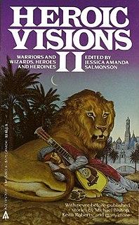 <i>Heroic Visions II</i> book by Jessica Amanda Salmonson