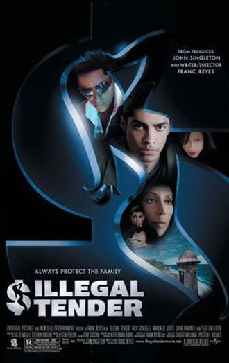 Illegal Tender (film) - Promotional film poster
