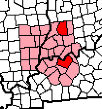 Daviess County - Two of the Daviess Counties are within the Illinois-Indiana-Kentucky tri-state area.