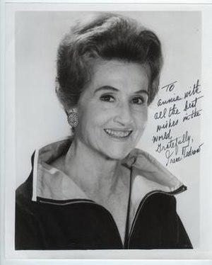 Irene Tedrow - Autographed photo