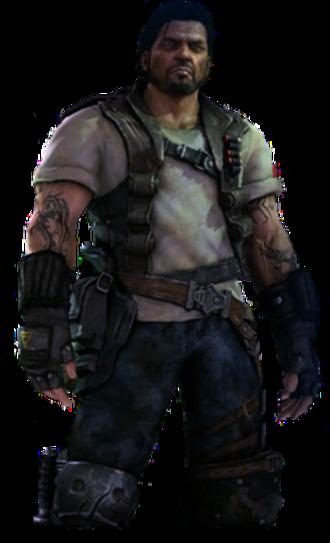 Jim Raynor - Raynor as he appears in StarCraft II.