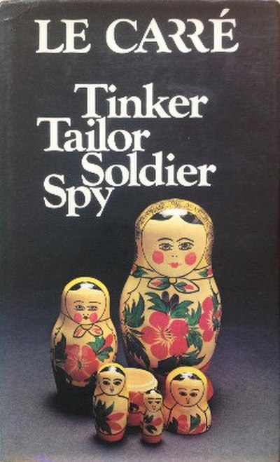 Picture of a book: Tinker, Tailor, Soldier, Spy