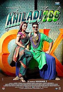 <i>Khiladi 786</i> 2012 film directed by Ashish R Mohan