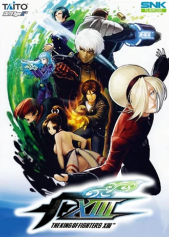 The King of Fighters XIII - Cover of the PlayStation 3 version