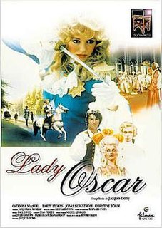 <i>Lady Oscar</i> (film) 1979 film adaptation of The Rose of Versailles, directed by Jacques Demy