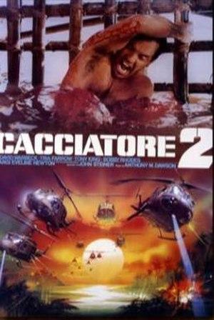 The Last Hunter - Original Italian promo poster with original title