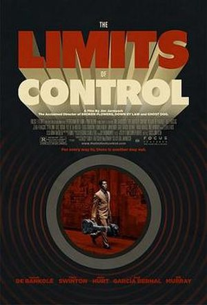 The Limits of Control - Promotional film poster