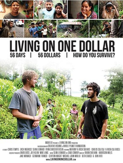Picture of a movie: Living On One Dollar