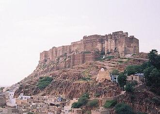 Jodha of Mandore - Mehrangarh fort, Jodhpur