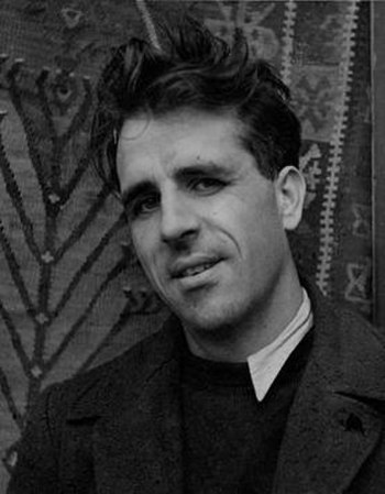 Photograph of the English author Mervyn Peake ...