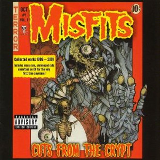 Cuts from the Crypt - Image: Misfits Cuts from the Crypt cover