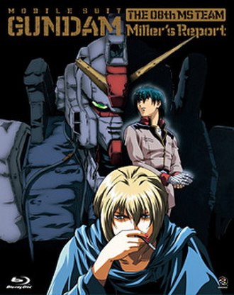 Mobile Suit Gundam: The 08th MS Team - Cover of the Blu-ray re-release of Miller's Report (limited edition)