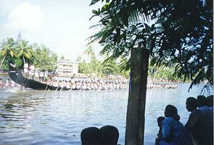Champakulam - Image: Moolam Boat Race