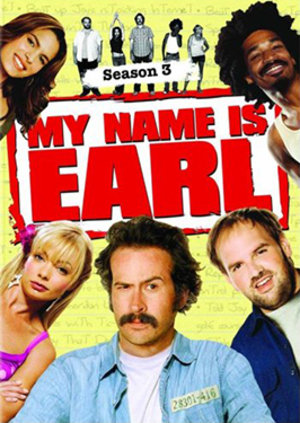 My Name Is Earl (season 3) - DVD cover
