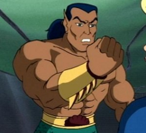 "Namor - Namor, from the Fantastic Four episode ""Now Comes the Sub-Mariner""."