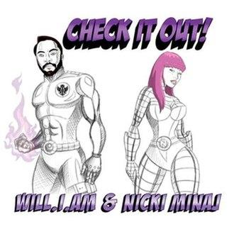 Check It Out (will.i.am and Nicki Minaj song) - Image: Nicki minaj hceck it out