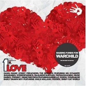 NME in Association with War Child Presents 1 Love - Image: Nme and War Child 1Love album cover