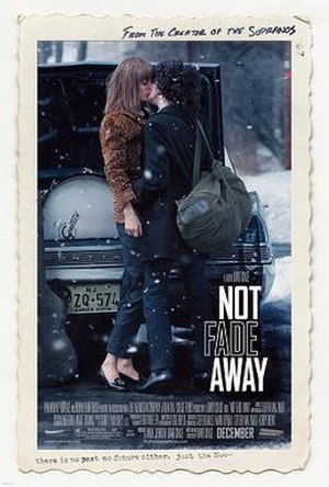 Not Fade Away (film) - Theatrical release poster
