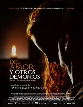 Of Love and Other Demons (film) - Film poster