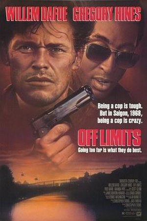 Off Limits (1988 film) - Theatrical release poster