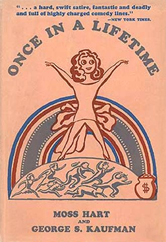 Once in a Lifetime (play) - First edition book cover (Farrar & Rinehart 1930)