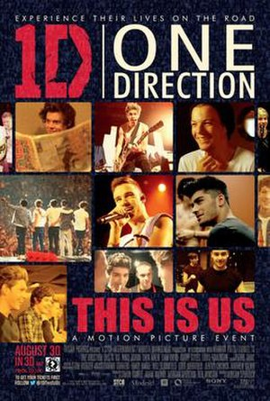 One Direction: This Is Us - Image: One Direction This is Us Theatrical Poster