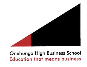 Onehunga High School - Onehunga High Business School logo