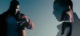 """Over (Drake song) - Drake paying homage to Michael Jackson's attire on """"Thriller"""" in the music video."""