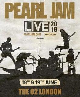 Pearl Jam 2018 Tour Concert tour