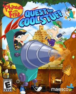 <i>Phineas and Ferb: Quest for Cool Stuff</i> 2013 video game