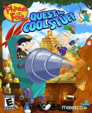 Phineas and Ferb: Quest for Cool Stuff - Image: Phineas and Ferb Quest for Cool Stuff NA game cover