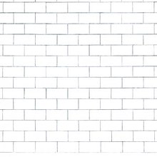 An image of a plain white brick wall.