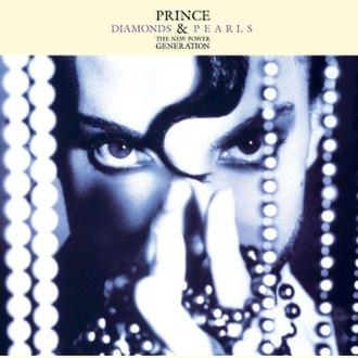Diamonds and Pearls (song) - Image: Prince Diamonds Single