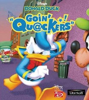 Donald Duck: Goin' Quackers - North American box art