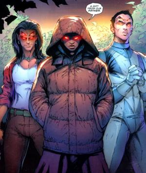 Trigon (comics) - Image: Raven brothers