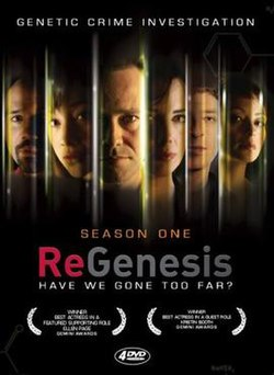 ReGenesis season one DVD.jpg