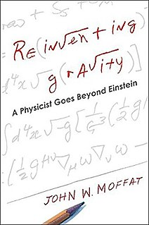 <i>Reinventing Gravity</i> Book by John Moffat