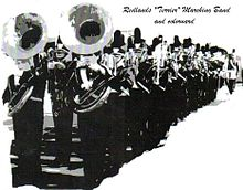 High School Marching Band Logos http://en.wikipedia.org/wiki/Redlands_Terrier_Marching_Band