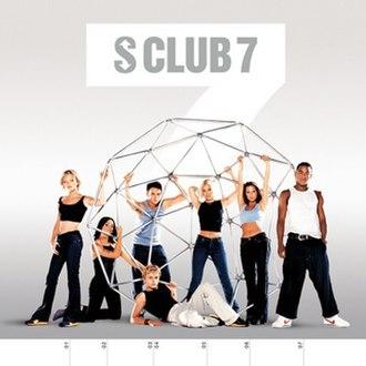 7 (S Club 7 album) - Image: S Club 7 (US Album Cover)