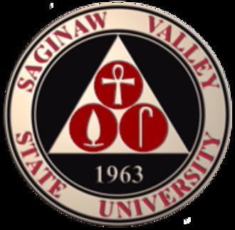 Saginaw Valley State University - Image: Saginaw Valley State seal