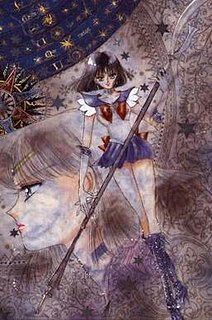 Sailor Saturn Character in Sailor Moon
