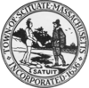 Official seal of Scituate, Massachusetts