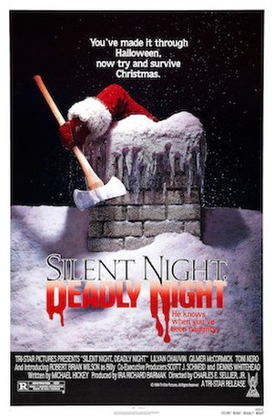 Silent Night, Deadly Night - Theatrical release poster