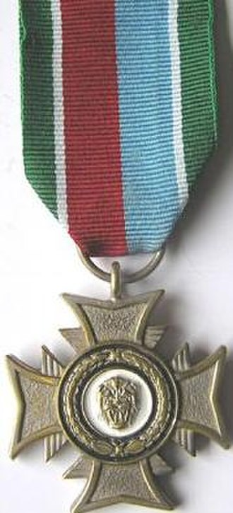 Silver Cross of Rhodesia - Image: Silver Cross of Rhodesia