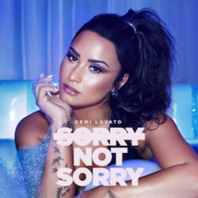 Sorry Not Sorry (Official Single Cover) by Demi Lovato.png