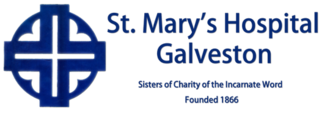 Sisters of Charity of the Incarnate Word - Logo of the now-defunct St. Mary's Hospital, Galveston.