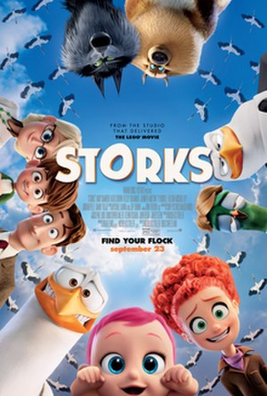 Storks (film) - Theatrical release poster