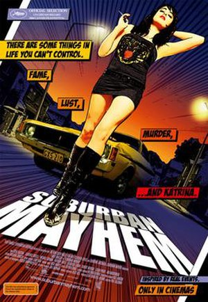 Suburban Mayhem - Theatrical release poster