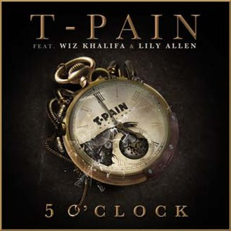 5 O'Clock (T-Pain song) - Image: T Pain 5 O'Clock