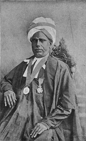 T. Muthuswamy Iyer - A portrait of T. Muthuswamy Iyer